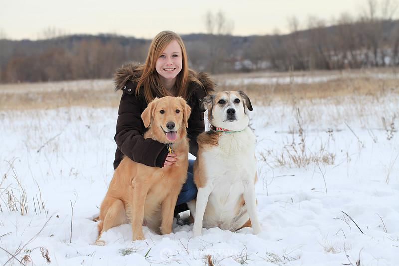 Camille, Bella, and Cozmo