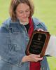 Roger & Lucinda Hodges, MVPP and Vet Award plaque