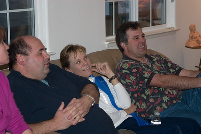 Terry LeClair, Nancy Gyes, and Dave Connet evaluating.