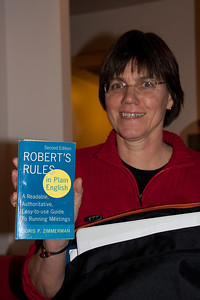 Kathy W. shares her secret to running successful meetings--Robert's Rules of Order.