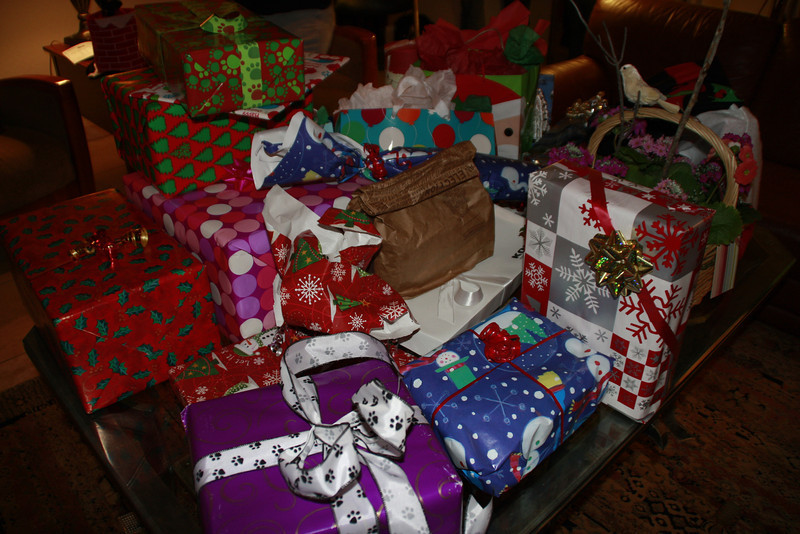 The stack o'gifts