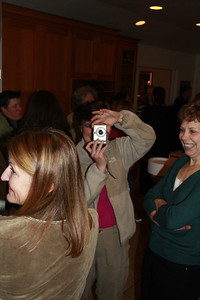 Ellen C with the camera again; Carol in foreground and Arlene to the side