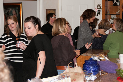 Crowd in the kitchen