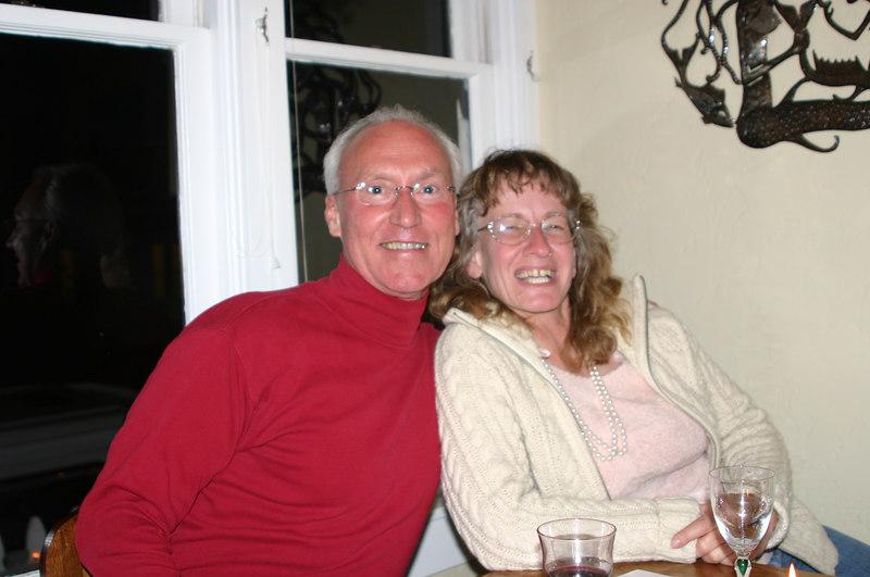 Bob and Ellen--really, we just met five minutes ago.