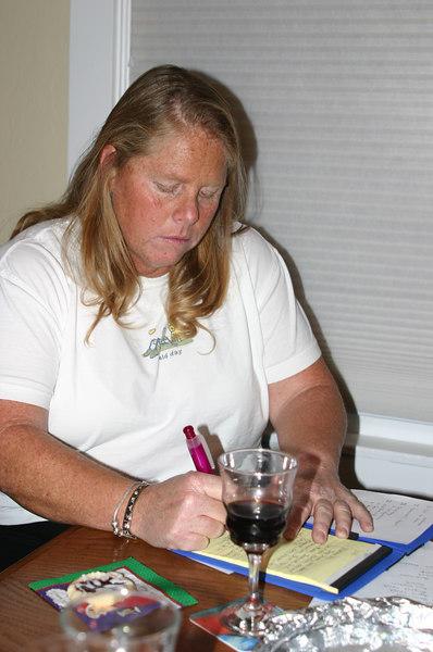 SMART secretary Diana taking notes
