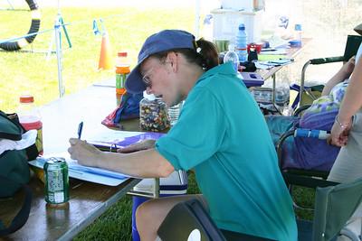 Judge Trisha Stall calculating course times