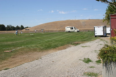 Field at the beginning