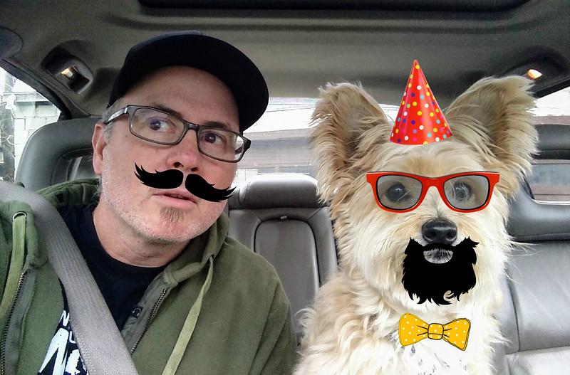 Smartski and Mutt on assignment