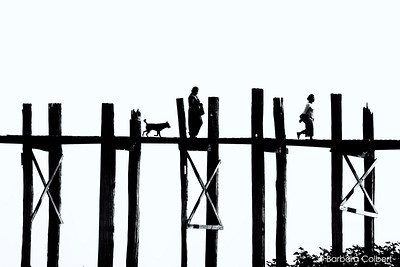 U Bein Bridge, Myanmar | 2014
