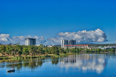 HDR of Lake Ginninderra