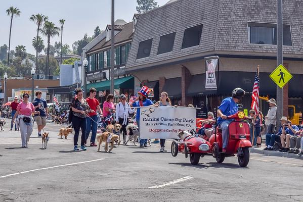 La Mesa Flag Day Parade, 2015, Dennis Rifkin