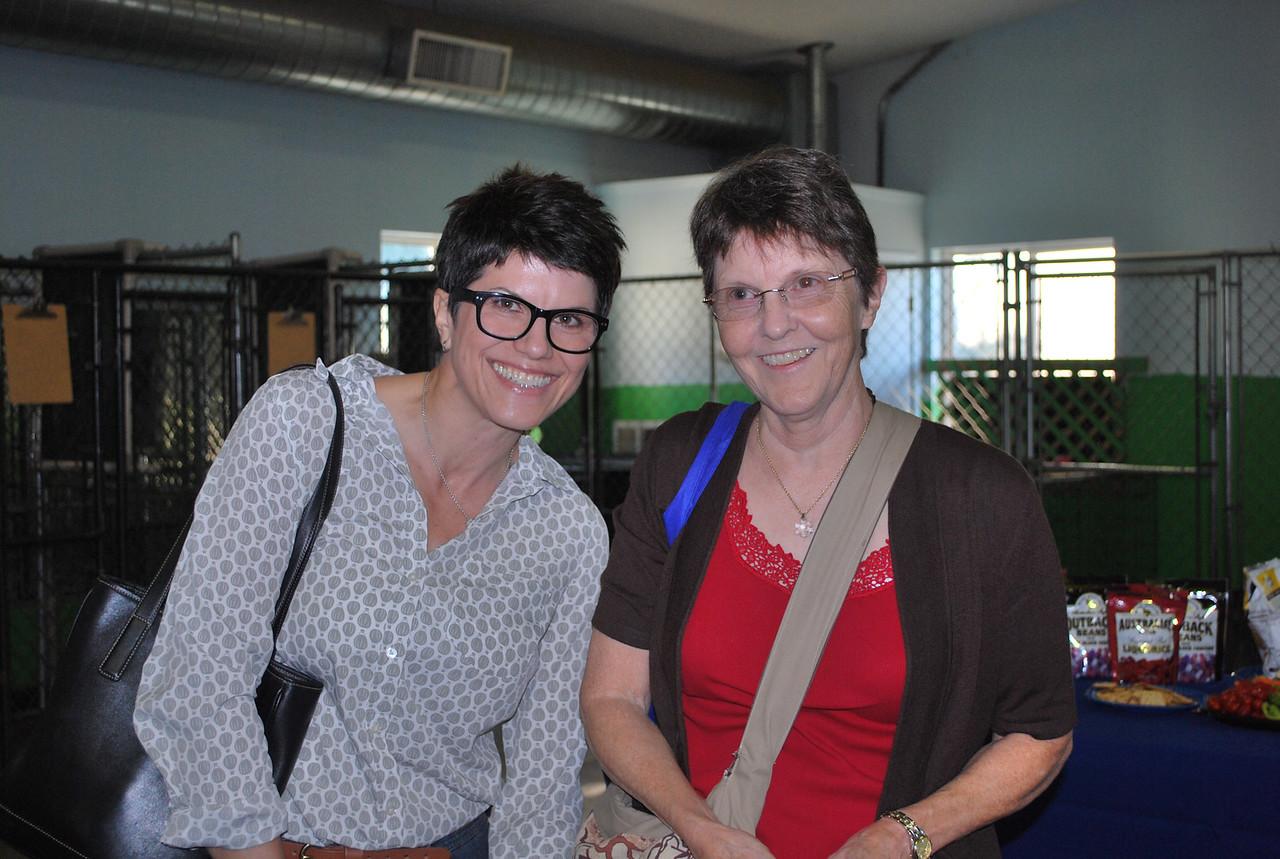 Mariette Spidel and Anne Greene