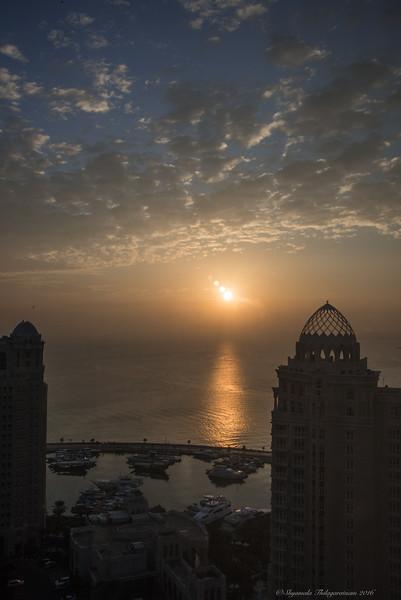 Sunrise at 4.45AM