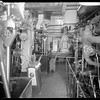 Engine room, steam yacht Casiana, ca. 1916-1939