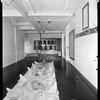 Dining room, steam yacht Casiana, ca. 1916-1939