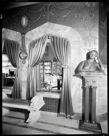 Pompeian Room, Doheny Mansion, Chester Place, Los Angeles, Calif., 1933