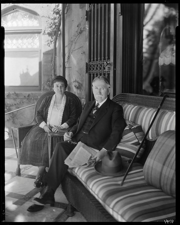 Estelle & Edward Doheny, Doheny Mansion, Los Angeles, Calif., ca. 1902-1920?