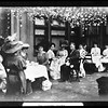 Ladies & Edward L. Doheny, garden party luncheon, Doheny Mansion, Chester Place, Los Angeles, Calif., ca. 1902-1920