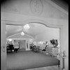 Upstairs music room, Doheny Mansion, Chester Place, Los Angeles, Calif., 1933