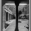 Courtyard, Edward L. Dohney Jr. Memorial Library, ca. 1932