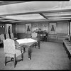 Drawing room, steam yacht Casiana, ca. 1916-1939