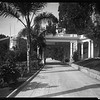 Driveway portico, Doheny Ranch, near Doheny Road, Beverly Hills, Calif., ca. 1915-1930s?