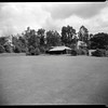 Lawn with cabana, Doheny Ranch, near Doheny Road, Beverly Hills, Calif., ca. 1915-1930s?