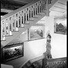 Staircase, Doheny Mansion, Chester Place, Los Angeles, Calif., 1933