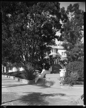 """White house"", Doheny Ranch, near Doheny Road, Beverly Hills, Calif., ca. 1915-1930s?"