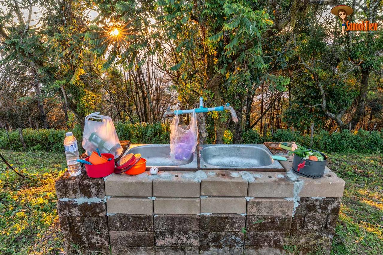ดอยผ้าห่มปก ที่ ลานกางเต็นท์กิ่วลม ณ อุทยานแห่งชาติดอยผ้าห่มปก เชียงใหม่