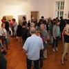 """Eröffnung der Ausstellung """"DARMSTADT LEBT. KUNST. POSITIONEN 2015"""" im Designhaus Darmstadt am 12. September 2015"""