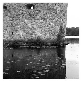 Schlossruine Kronoberg, Provinz Kronobergs län, Småland, (Schweden), 7. August 2016