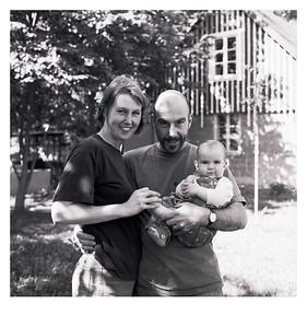 Fanny Mark Ketter, Clay Ketter und Fanny Ketter, Staffanstorp, 6. August 1996