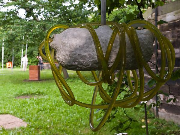 """Birgit Cauer """"Lux et Lumen"""", 2012, 21. Ausstellung der Darmstädter Sezession auf dem Gelände der Ziegelhütte 2012"""