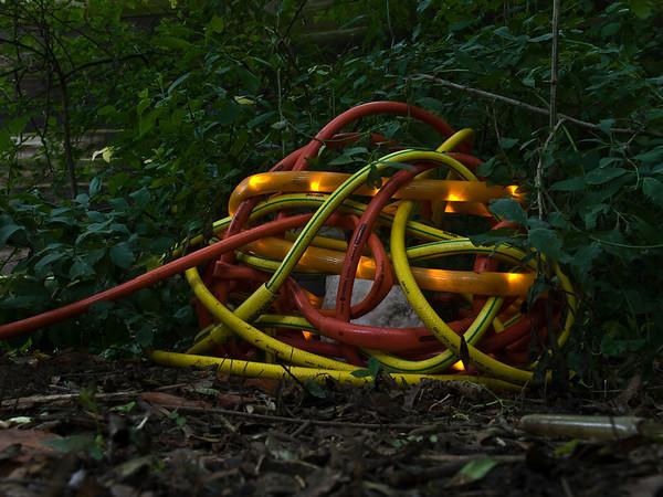 """Birgit Cauer """"Lux et Lumen"""", 2012, 21. Ausstellung der Darmstädter Sezession auf dem Gelände der Ziegelhütte"""