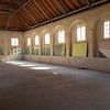 Aufbau der Ausstellung von Jupp Gauchel im Marstall Schloss Rastatt