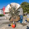 """Aktion PPP """"Partsch poliert Pomodoro"""" in der Georg-Büchner-Anlage Darmstadt am 30. September 2011"""