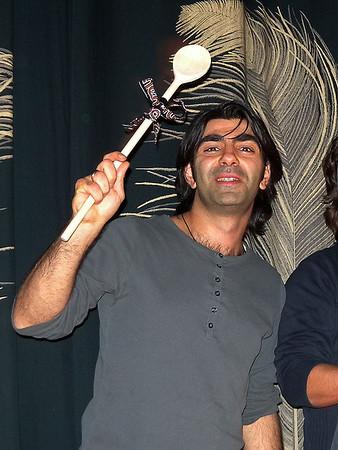 Zur Vorpremiere seines neuen Films SOUL KITCHEN kam Regisseur und Produzent Fatih Akin (Foto) mit seinem Hauptdarsteller und Ko-Autoren Adam Bousdoukos am 18. Dezember ins Programmkino Rex nach Darmstadt.