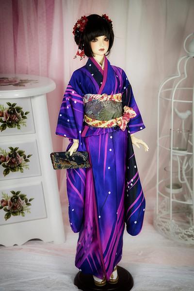 Japanese dress kimono for BJD