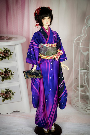 Japanese dress kimono for BJD