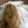 Doll in wedding garb