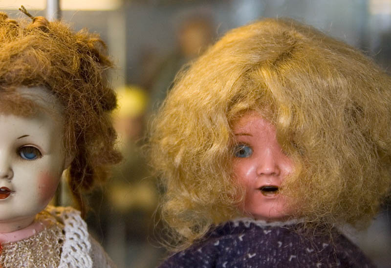 Two fashion dolls