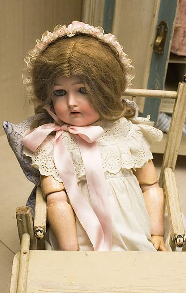 Sitting doll