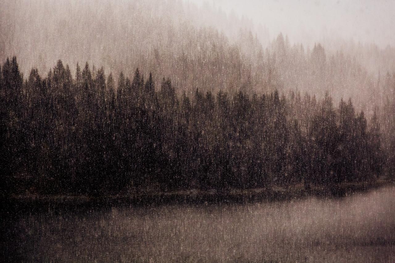 First Snow of September, Lake Misurina