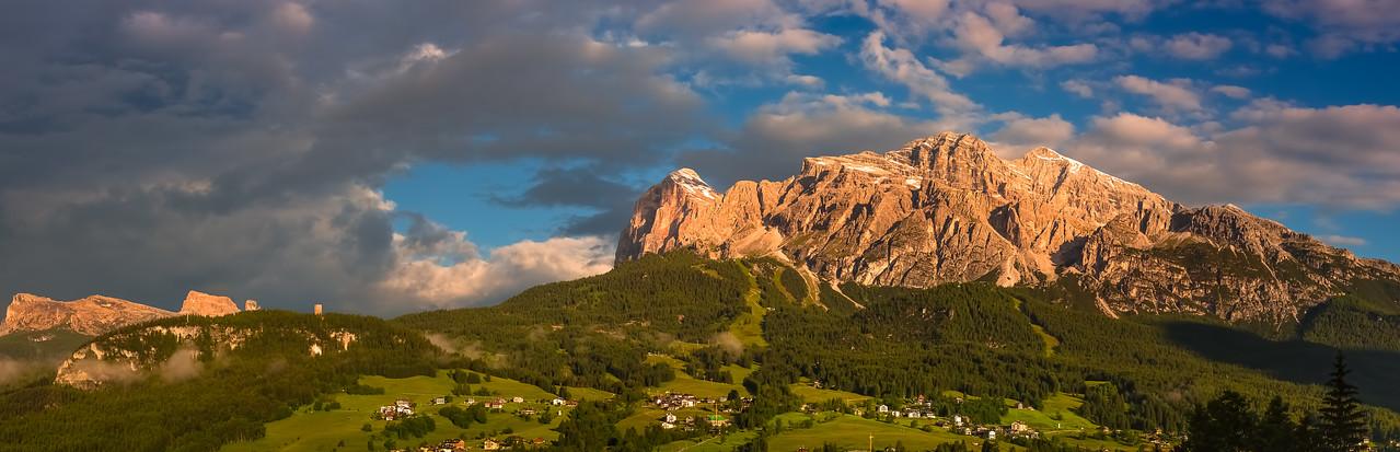 Cortina de Ampezzo Panorama