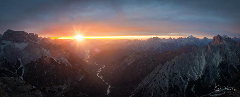 Dolomiti Sunset