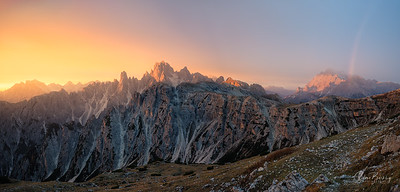 Sunrise at Tre Cime II