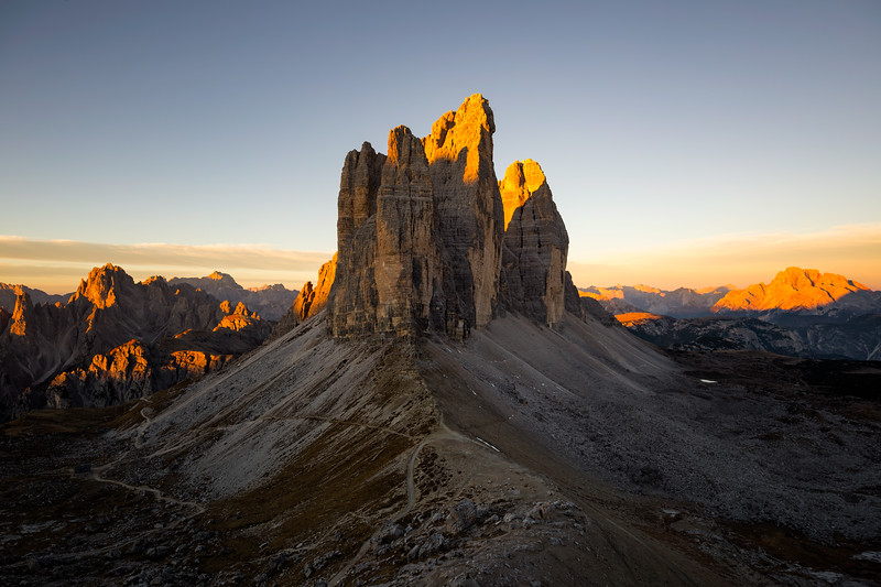 Forcella Lavaredo Sunrise