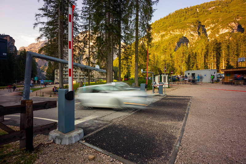 Lago di Braies Car Park