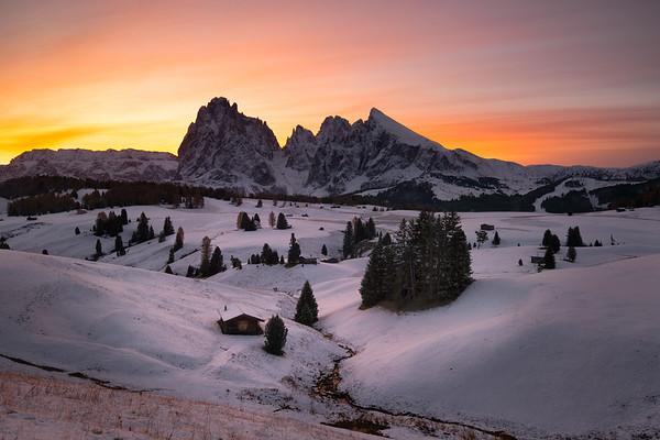 Alpi di Suisi Sunrise